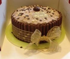 Chocoholic's birthday cake