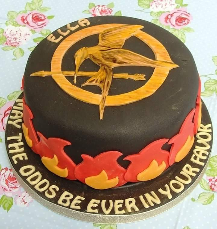 Hunger Games Cake Simply Delish