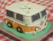 VW camper van for handfasting