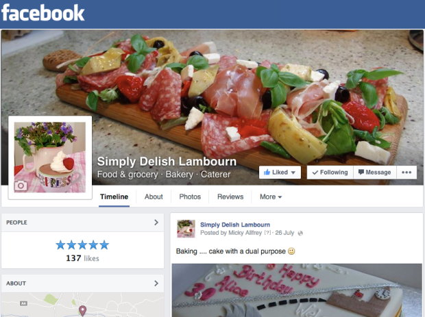 simply delish on facebook