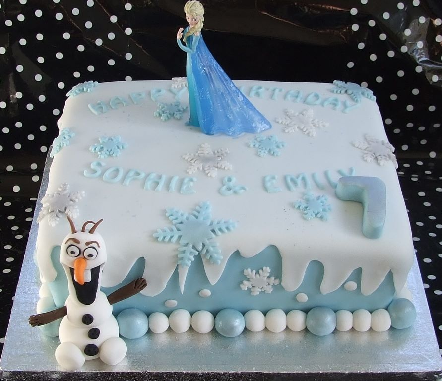 ve loved developing lots of different 'Frozen' inspired cakes ...