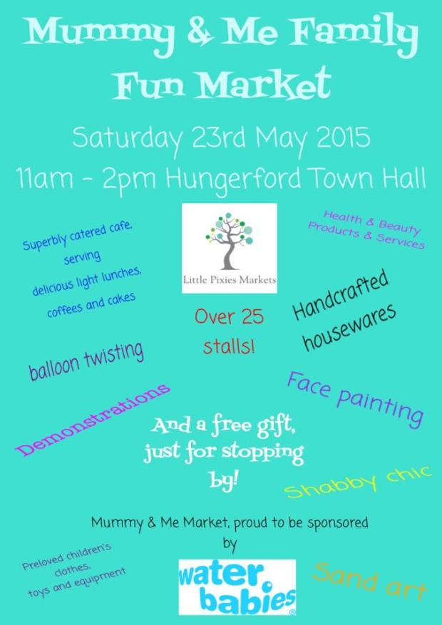 Come along to Hungerford Town Hall on the 23 May!