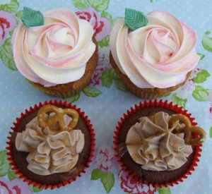 Some of these cupcakes might make an appearance alongside the lunch goodies!