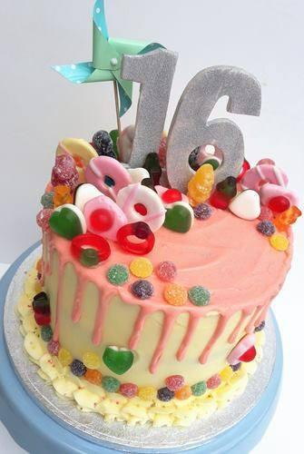 Enjoyable Birthday Drip Cake Simply Delish Sixteenth 16Th Birthday Simply Personalised Birthday Cards Epsylily Jamesorg