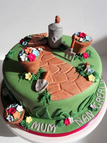 gardening-cake