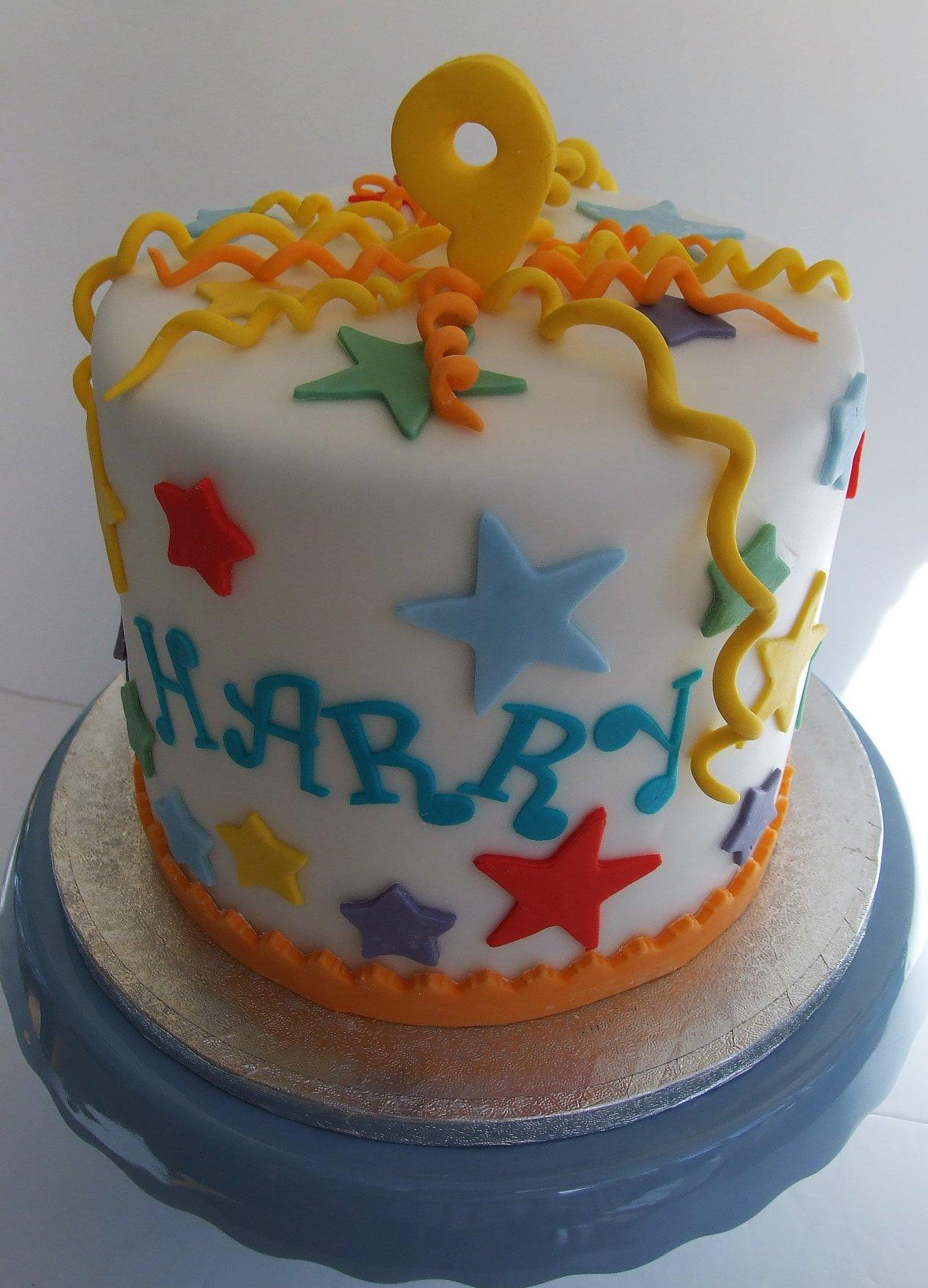 Traditional Birthday Cake Royal Icing Simply Delish
