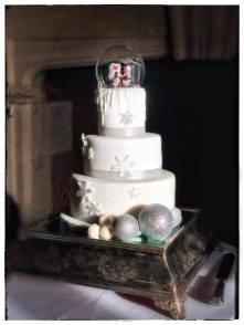 Penguins layer cake