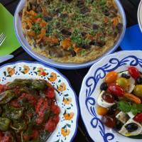 Savoury dishes